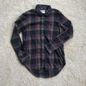Vans Women's Flannel Button Down